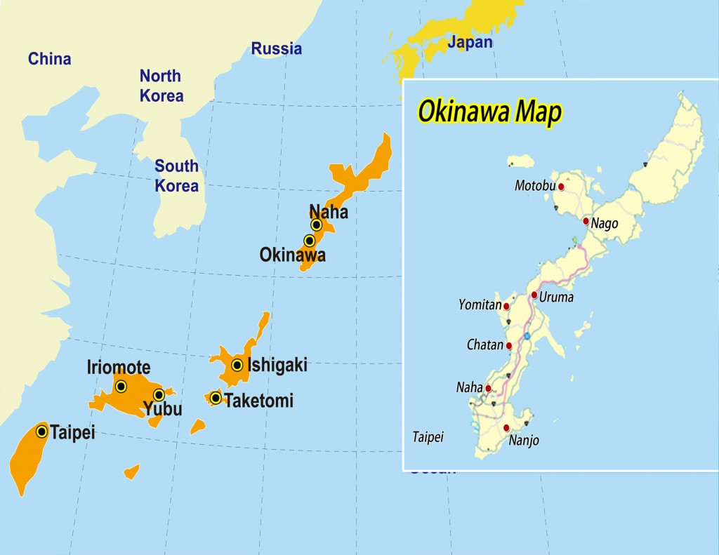 Okinawa map 160518 1 air sea travel center okinawa map 160518 1 gumiabroncs Images
