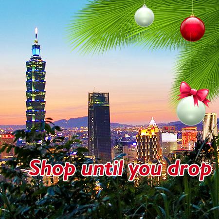 171203 Christmas Shopping Tour- Taiwan