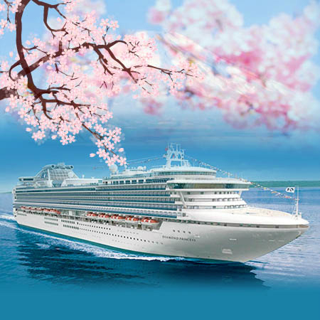 Japan Spring Flowers Festival - Diamond Princess
