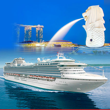 Southeast Asia Cruise Vacation - Diamond Princess