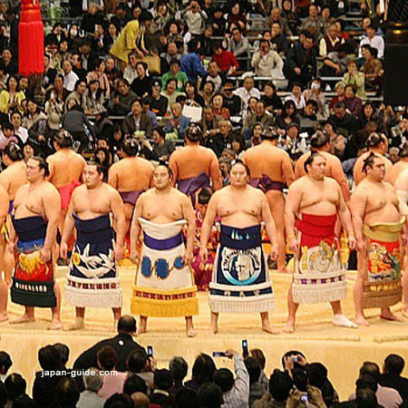 2019.11.06 Sumo Wrestling in Kyushu